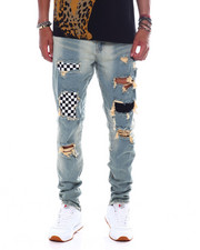 Crysp - Pacific Checkerboard Jean-2391156