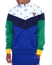 Track Jackets - COLORBLOCK TRACK JACKET-2391188