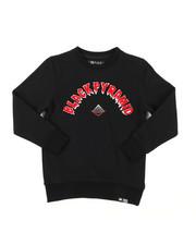 Sweatshirts & Sweaters - The Big OG Drip Long Sleeve Crew Neck Sweatshirt (5-18)-2389790
