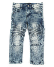 Sizes 2T-4T - Toddler - Stretch Moto Jeans (2T-4T)-2391173