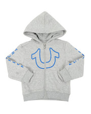 True Religion - TR Horseshoe Outline Hoodie (2T-4T)-2390393