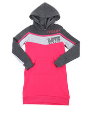 Dresses - Athleisure Sweatshirt Dress (7-16)-2390348