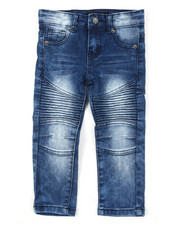 Arcade Styles - Stretch Moto Jeans (2T-4T)-2391130