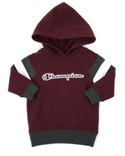 Hoodies - Color Block Long Sleeve CVC Hoodie (2T-4T)-2390298