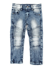 Arcade Styles - Stretch Moto Jeans (2T-4T)-2391126