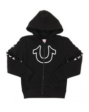 True Religion - TR Horseshoe Outline Hoodie (4-7)-2390406