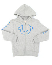 True Religion - TR Horseshoe Outline Hoodie (4-7)-2390401