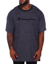 Champion - S/S Jersey Marled Ringer Tee (B&T)-2392223