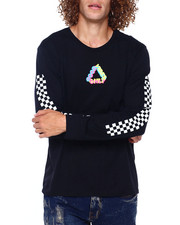 Men - GOOD VIBES NEON LS CREW-2391602