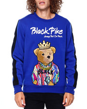 Men - Teddy w Crown Crewneck Sweatshirt-2391884