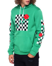 Men - CHECKER ROSE HOODIE-2391844