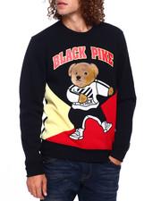 Colorblock Dabbin Bear Crewneck Swetshirt
