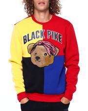 Buyers Picks - Colorblock Chenille Teddy w Bandana Sweatshirt-2391860
