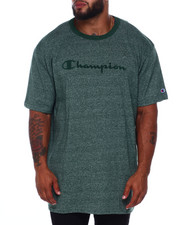 Champion - S/S Jersey Marled Ringer Tee (B&T)-2392198