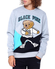 Buyers Picks - Colorblock Dabbin Bear Crewneck Swetshirt-2391821