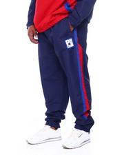 Sweatpants - Color Block Nylon Pant (B&T)-2392271