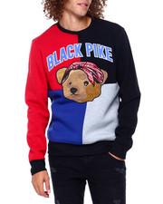Buyers Picks - Colorblock Chenille Teddy w Bandana Sweatshirt-2391849