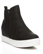 Fashion Lab - Alisa Slip-On High Top Sneakers-2392073
