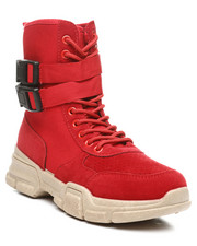 Womens-Fall - Ghandi-45 Lace-Up Boots W/ Double Buckle-2392549