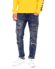 Buyers Picks - Ripped Knee Stretch Moto Jean-2391607