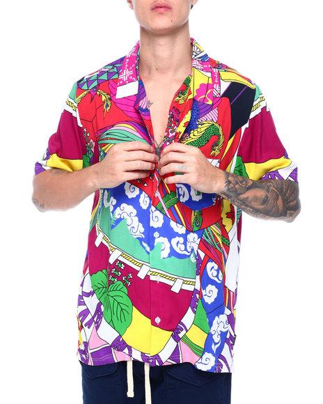LRG - Paradise Woven SS Shirt