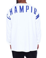 Champion - OVERSIZED BLOCK LS TEE-2393830