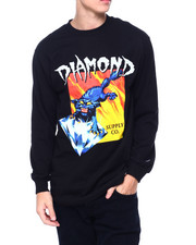 Diamond Supply Co - GREED L/S TEE-2393286