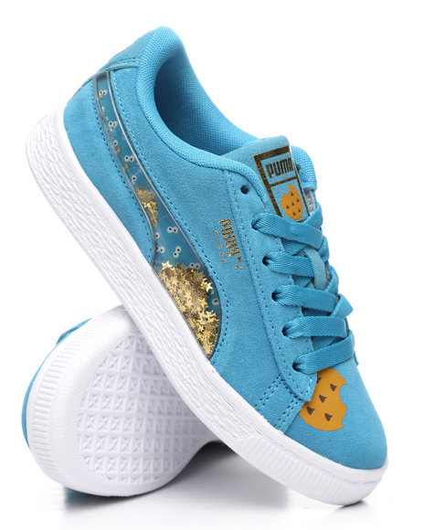 Puma - Sesame Street 50 Suede Statement PS Sneakers (10.5-3)