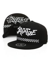 Men - Savage Check Snapback Hat -2392203