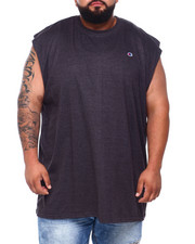 Tanks - Solid Muscle Left Chest Tank Top (B&T)-2384803