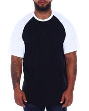 Big & Tall - S/S Mens Raglan T-Shirt (B&T)-2392252