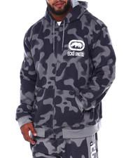 Ecko - 2 Color Camo Zip Up Hoodie (B&T)-2393526