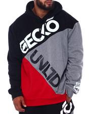 Hoodies - Ecko Color Block Hoodie (B&T)-2393586