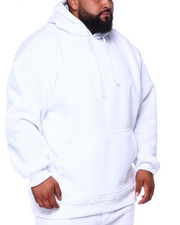 Big & Tall - Poly Fleece Hoodie (B&T)-2393216