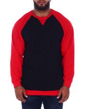 Buyers Picks - L/S Two Tone Raglan Jersey Knit (B&T)-2393343