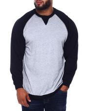 Buyers Picks - L/S Two Tone Raglan Jersey Knit (B&T)-2393378