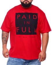 Big & Tall - Paid In Full S/S Tee (B&T)-2393309