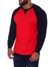 Big & Tall - L/S Two Tone Raglan Jersey Knit (B&T)-2393373