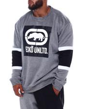Sweatshirts & Sweaters - 3 Color Stripe Crewneck (B&T)-2393546