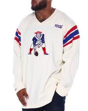Mitchell & Ness - Patriots L/S Heavy Jersey (B&T)-2393712