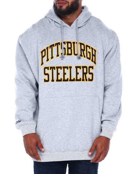 Mitchell & Ness - Steelers Team Hoodie (B&T)