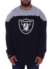 Mitchell & Ness - Raiders L/S Heavy Jersey (B&T)-2393681
