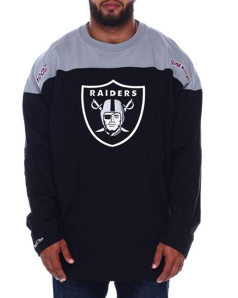 Mitchell & Ness - Raiders L/S Heavy Jersey (B&T)