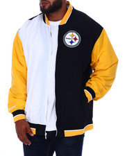 Mitchell & Ness - Team History Warm Up Jacket 2.0 (B&T)-2393610