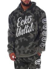Ecko - 2 Color Camo Hoodie W/Vert Rhino (B&T)-2393566