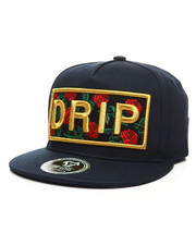 Buyers Picks - Drip Floral Snapback Hat-2391441