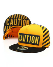 Buyers Picks - Caution Snapback Hat-2391437