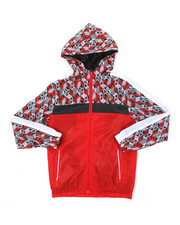 Outerwear - Nylon Windbreaker Jacket (8-20)-2394222