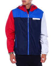Members Only - COLORBLOCK ZIP UP nylon jacket-2395208