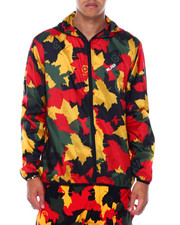 LRG - Leaf Camo Windbreaker-2394834